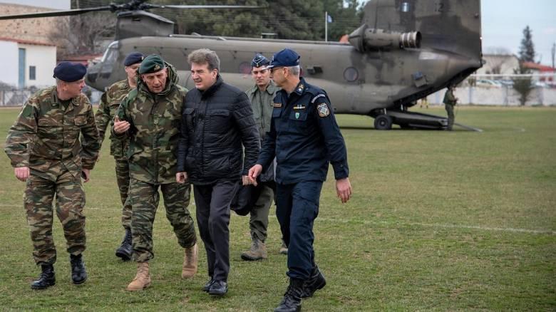 Στον Έβρο ο Χρυσοχοΐδης: Ενισχύονται οι αστυνομικές δυνάμεις στην ελληνοτουρκική μεθόριο
