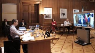 Κορωνοϊός: Στην τηλεδιάσκεψη Smart Covid 19 Management Group ο Μητσοτάκης