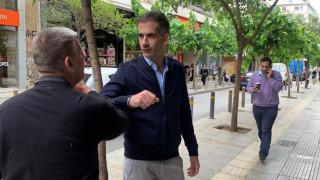 Στην αγορά των Αμπελοκήπων ο Δήμαρχος Αθηναίων