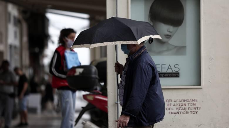 Καιρός: Βροχές, καταιγίδες και άνοδος της θερμοκρασίας την Πέμπτη