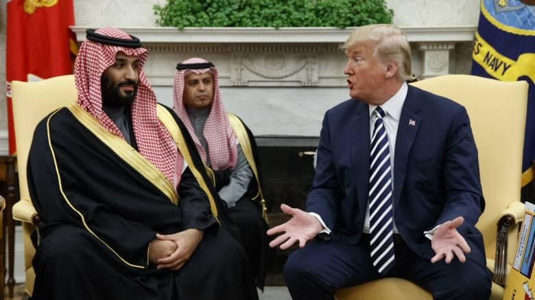 ΗΠΑ: Νέα μεγάλη πώληση όπλων στη Σαουδική Αραβία σχεδιάζει ο Τραμπ