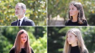 Ισπανία: Η βασιλική οικογένεια τιμά τα θύματα του κορωνοϊού