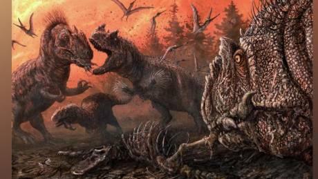 Μέχρι το κόκκαλο: Οι σαρκοβόροι δεινόσαυροι κατέληξαν να τρώνε ο ένας τον άλλον