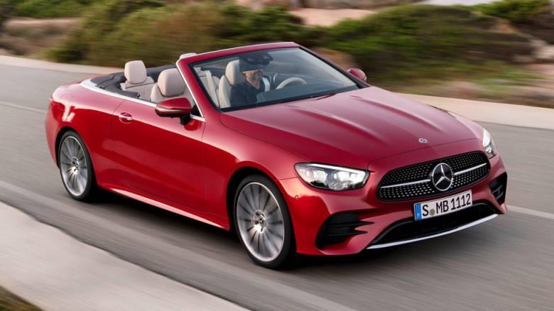 Οι Mercedes E-Class Coupe και Cabriolet γίνονται υβριδικές και πιο κομψές