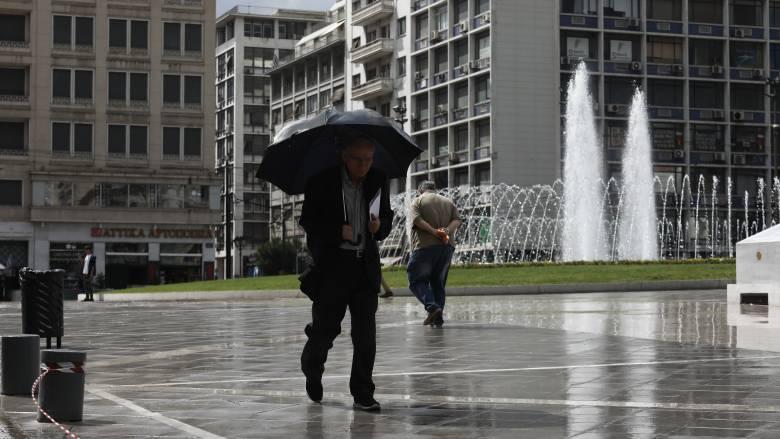 Άστατος και σήμερα ο καιρός με βροχές και καταιγίδες
