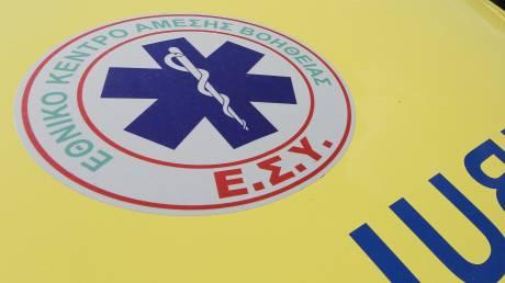 Χανιά: Οδηγός εκτινάχτηκε από το Ι.Χ. του στο δρόμο και τον χτύπησε διερχόμενο όχημα