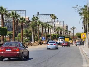 Έρημος ο αυτοκινητόδρομος  Ελ Ορούμπα που οδηγεί στο αεροδρόμιο του Καΐρου