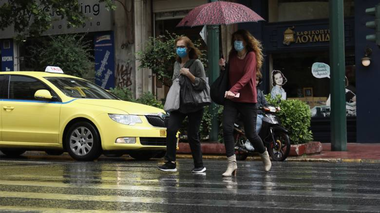 Βροχερό και σήμερα το σκηνικό του καιρού - Μικρή άνοδος της θερμοκρασίας