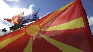 Αμερικανικά και ελληνικά πολεμικά αεροσκάφη πέταξαν πάνω από τα Σκόπια