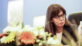 Σακελλαροπούλου: Η απάντησή της στις συνεχείς προκλήσεις της Τουρκίας