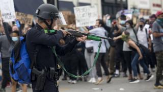 Μινεάπολη: Μέλη του συνεργείου του Reuters τραυματίστηκαν από πλαστικές σφαίρες