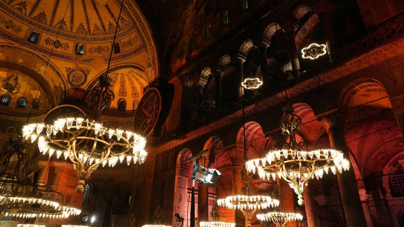 Εκρόσωπος Ερντογάν: Απομακρύνεται το ενδεχόμενο μετατροπής της Αγίας Σοφίας σε τζαμί