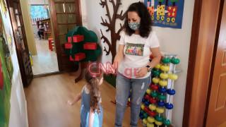 «Πρεμιέρα» για τους παιδικούς σταθμούς: Αντισηπτικά, μάσκες και θερμομέτρηση