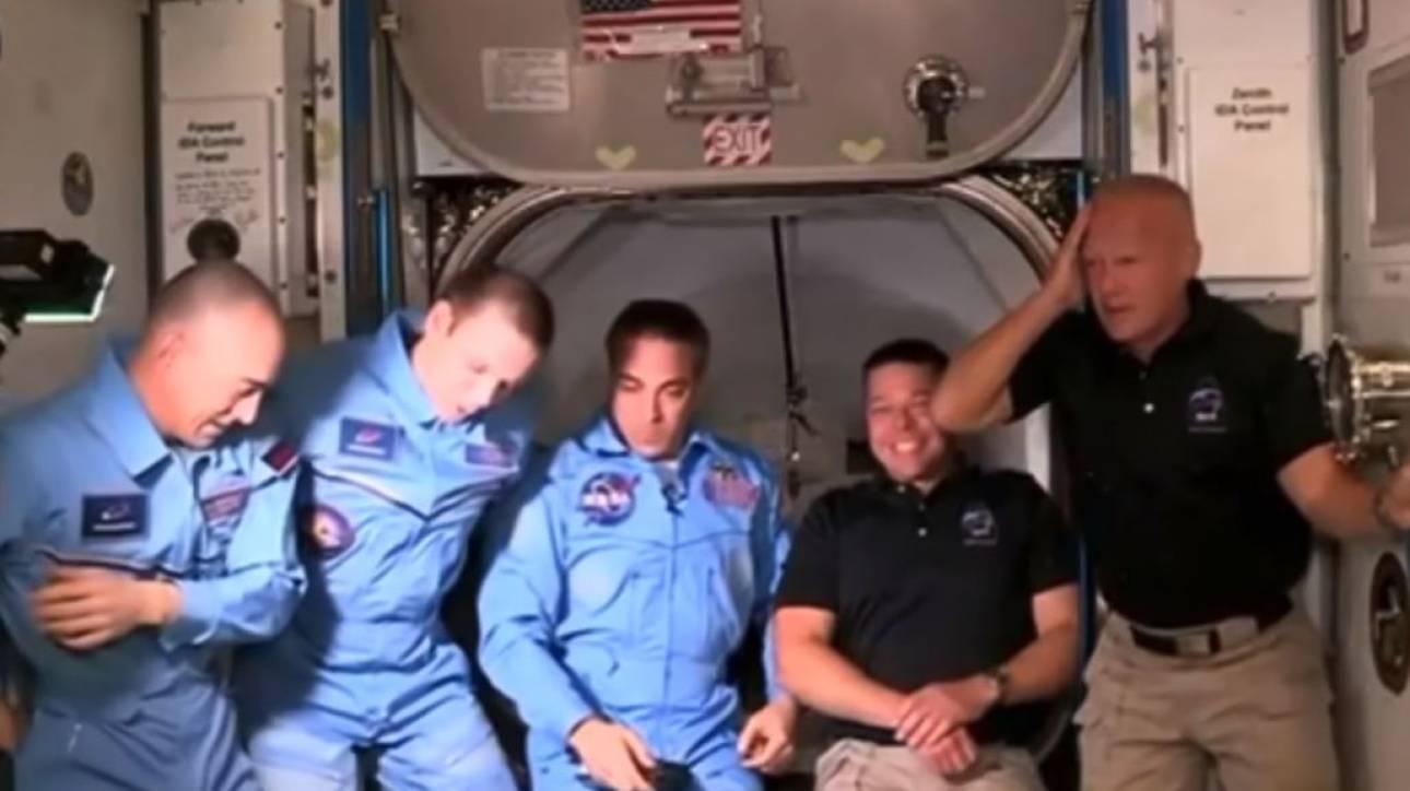 SpaceX: H… ατυχής είσοδος αστροναύτη στον Διεθνή Διαστημικό Σταθμό