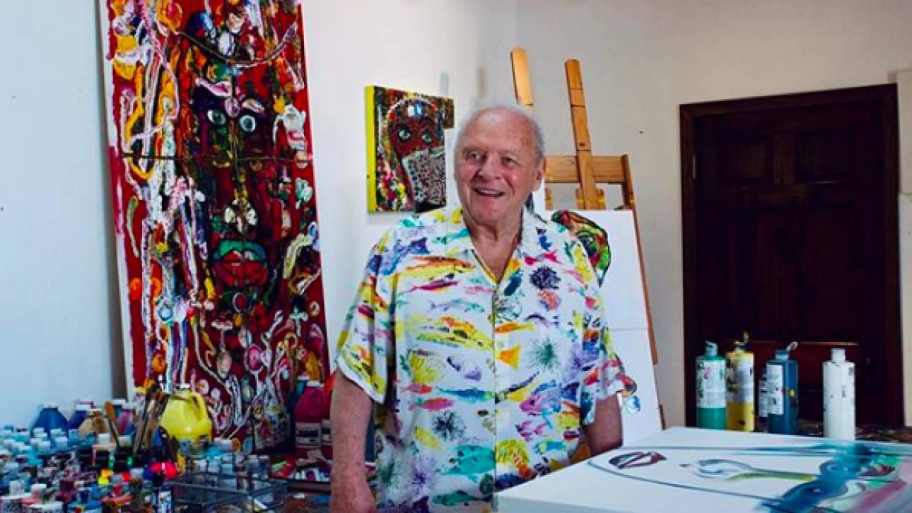«Δεν πίστεψα στο ταλέντο μου»: Ο Άντονι Χόπκινς θα μπορούσε να είχε γίνει σπουδαίος ζωγράφος