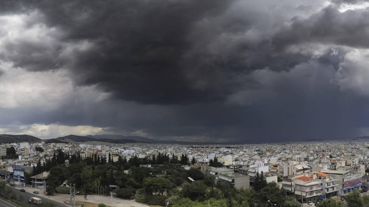 Καιρός: Προειδοποίηση για βροχές και καταιγίδες - Πού θα «χτυπήσουν»
