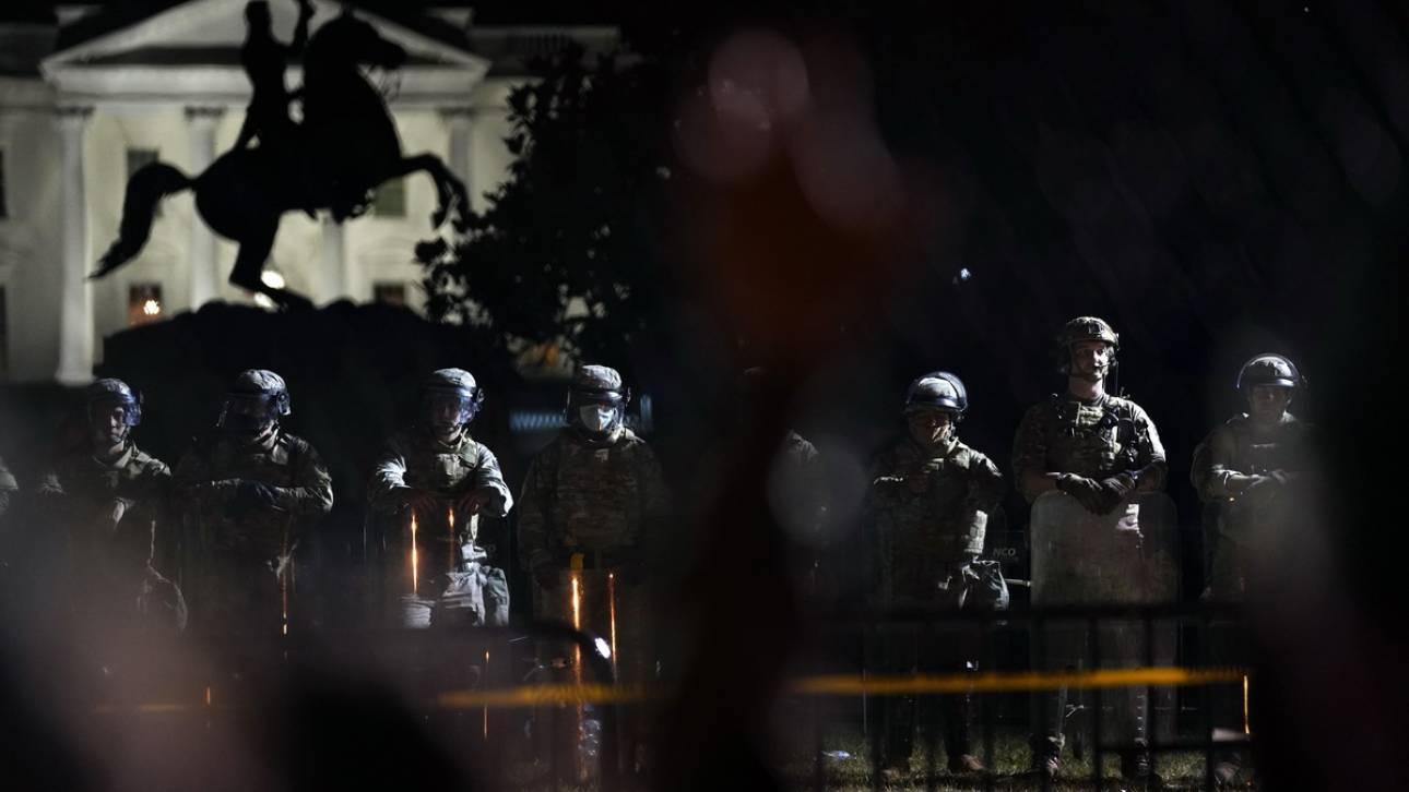 Τζορτζ Φλόιντ: 1.600 στελέχη του στρατού ξηράς μεταφέρθηκαν στην Ουάσινγκτον