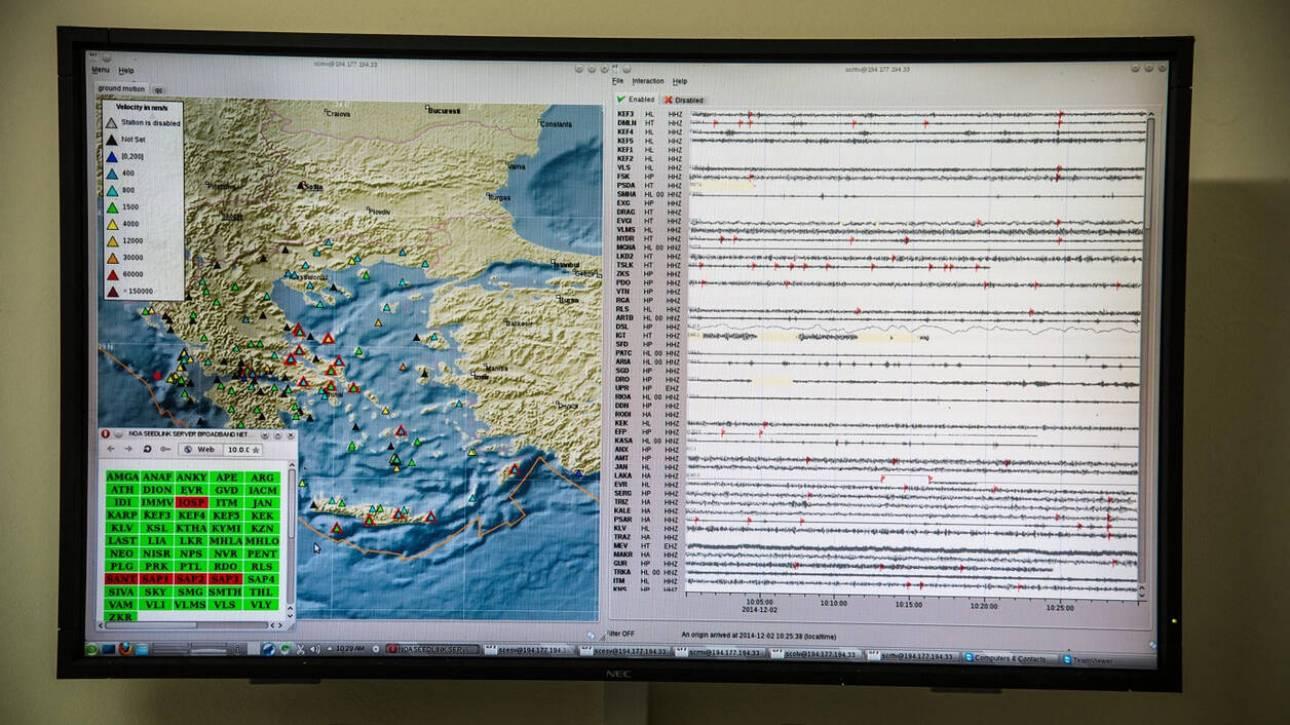 Σεισμός ανοιχτά του Καστελόριζου