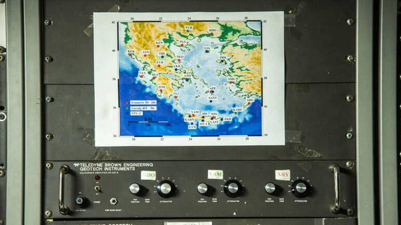 Κρήτη: Σεισμός ανοιχτά της Ιεράπετρας