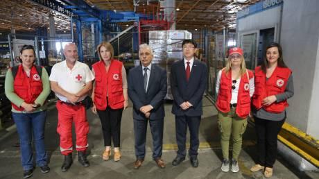 130.000 μάσκες δωρεά από την Κίνα, στον Ελληνικό Ερυθρό Σταυρό