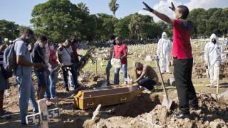 Κορωνοϊός στη Βραζιλία: Νέο ρεκόρ με 1.349 θανάτους σε 24 ώρες