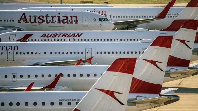Αυξάνονται κατά 20% οι πτήσεις των Αυστριακών Αερογραμμών προς την Ελλάδα