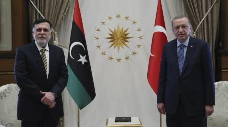 Ερντογάν: Τουρκία και Λιβύη θα προχωρήσουν σε έρευνες στην Aνατολική Μεσόγειο