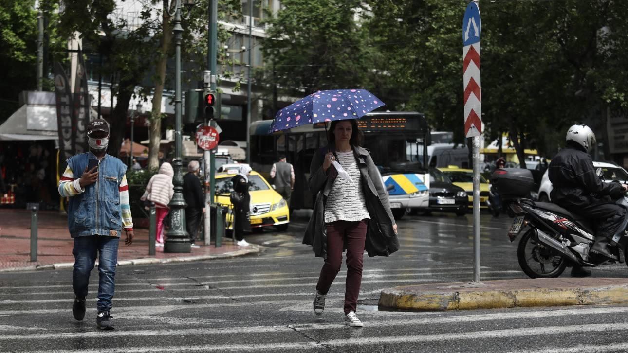 Καιρός: Τοπικές βροχές και σκόνη την Παρασκευή - Μικρή άνοδος της θερμοκρασίας