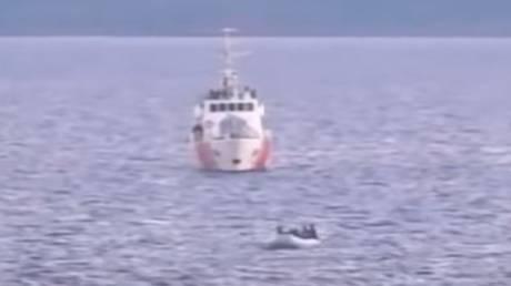 Λιμενικό: Τουρκικές ακταιωροί συνοδεύουν βάρκες με μετανάστες προς τα ελληνικά ύδατα