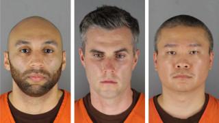 Δολοφονία Τζορτζ Φλόιντ: Για πρώτη φορά ενώπιον δικαστηρίου οι τρεις αστυνομικοί