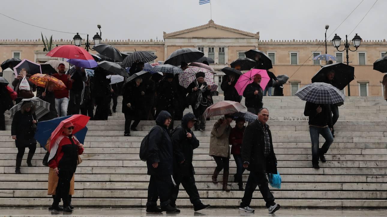 Έκτακτο δελτίο επιδείνωσης καιρού: Βροχές και καταιγίδες από το Σάββατο