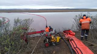 Ρωσία: Υπό έλεγχο η εξάπλωση της πετρελαιοκηλίδας στην πόλη Νορίλσκ