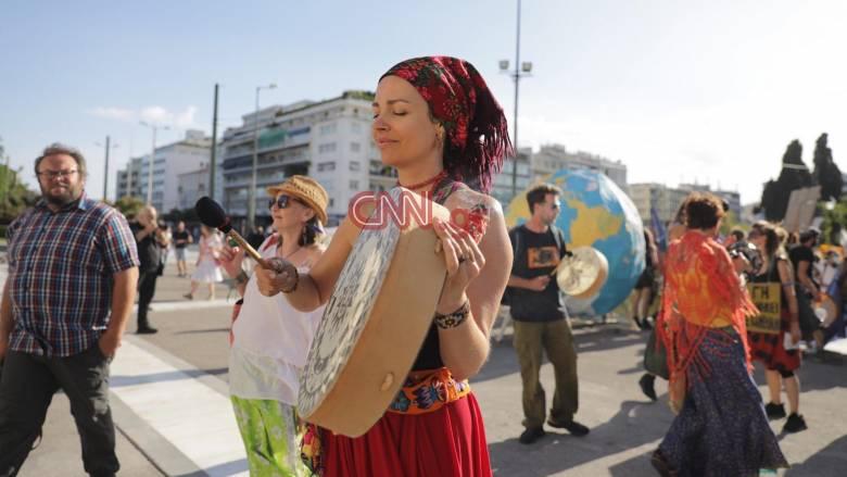 Παγκόσμια Ημέρα Περιβάλλοντος: Συγκέντρωση στο κέντρο της Αθήνας