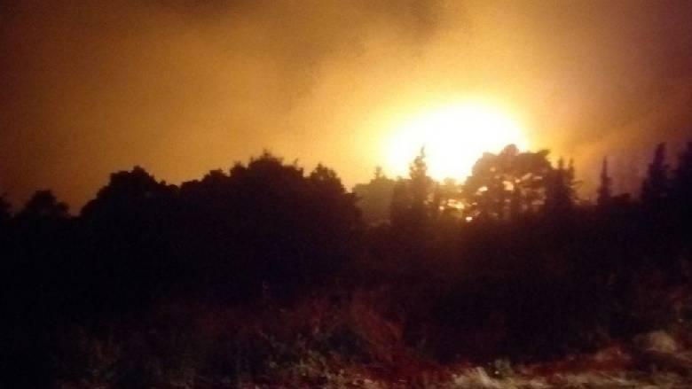 Μεγάλη πυρκαγιά στη Ζάκυνθο
