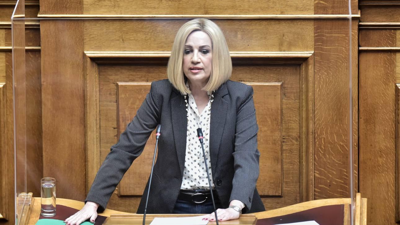 Γεννηματά: Προτεραιότητα της κυβέρνησης η απορρύθμιση των εργασιακών σχέσεων