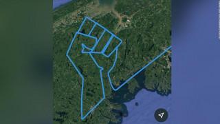 Η πτήση - φόρος τιμής στον Τζορτζ Φλόιντ ενός Έλληνα πιλότου που ζει στον Καναδά