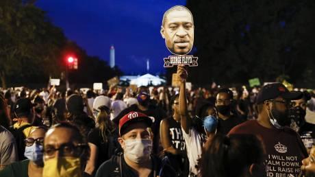Χιλιάδες διαδηλωτές στις αντιρατσιστικές κινητοποιήσεις – Φόβοι αναζωπύρωσης του κορωνοϊού