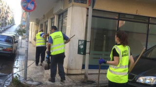 Κυριακάτικες δράσεις καθαριότητας του Δήμου Αθηναίων στον Νέο Κόσμο