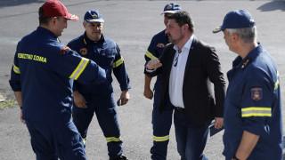 Χαρδαλιάς: Περισσότερα ελικόπτερα και προσωπικό από ποτέ για την αντιπυρική περίοδο