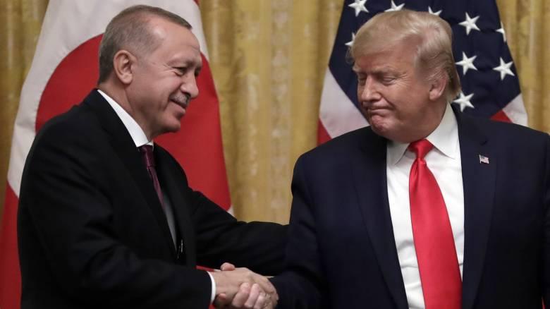 Επικοινωνία Τραμπ - Ερντογάν για την Ανατολική Μεσόγειο