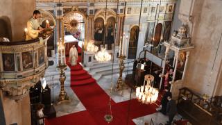 Εορτασμός του Αγίου Πνεύματος με αναφορά στα πρωτεία του Οικουμενικού Πατριαρχείου