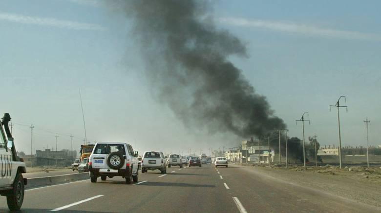 Ιράκ: Ρουκέτα έπληξε το διεθνές αεροδρόμιο της Βαγδάτης