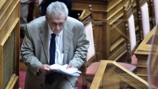 Ο Παπαγγελόπουλος ζητά την αντίδραση των νομικών στην «αυταρχική καταπάτηση των δικαιωμάτων» του