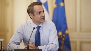 Μητσοτάκης: Η συμφωνία Ελλάδας - Ιταλίας καθοριστική για την ειρήνη και τη σταθερότητα της περιοχής