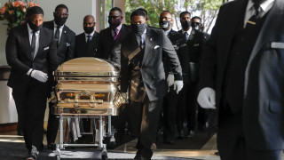 Το Χιούστον αποχαιρέτησε τον Τζορτζ Φλόιντ - Συγκίνηση στην κηδεία του