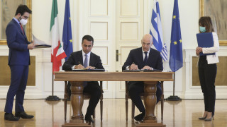 Συμφωνία για ΑΟΖ Ελλάδας - Ιταλίας: Το παρασκήνιο και τα επόμενα σχέδια του Νίκου Δένδια