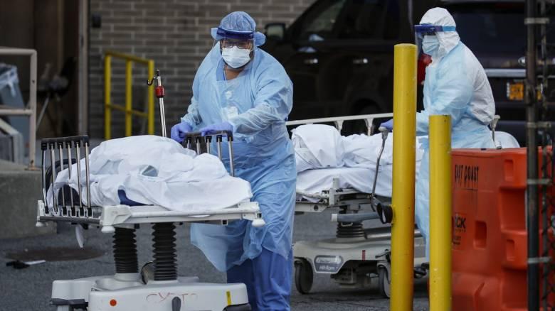 Κορωνοϊός στις ΗΠΑ: 1.082 νέοι θάνατοι - Σχεδόν 2 εκατομμύρια τα κρούσματα μόλυνσης