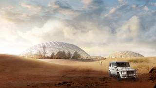 Μία πόλη από τον Άρη στην έρημο του Ντουμπάι