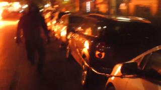 Καρέ - καρέ η εμπρηστική επίθεση στο Αστυνομικό Τμήμα Νέας Ιωνίας