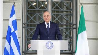Δένδιας για συμφωνία Ελλάδας - Ιταλίας: Τα κυριαρχικά μας δικαιώματα αναγνωρίζονται εμπράκτως